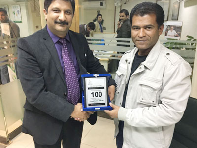 100 Container Award